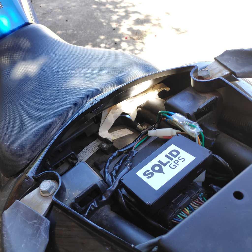 Motorbike Tracker - Solid GPS