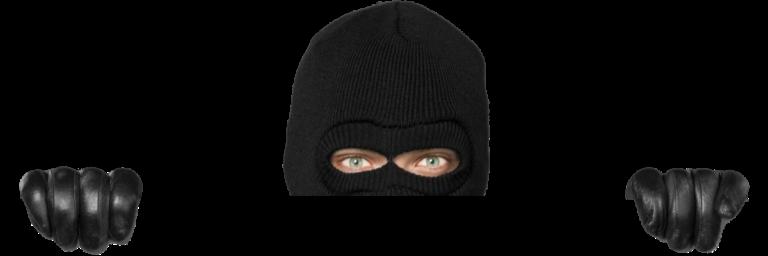 A thief looking at you