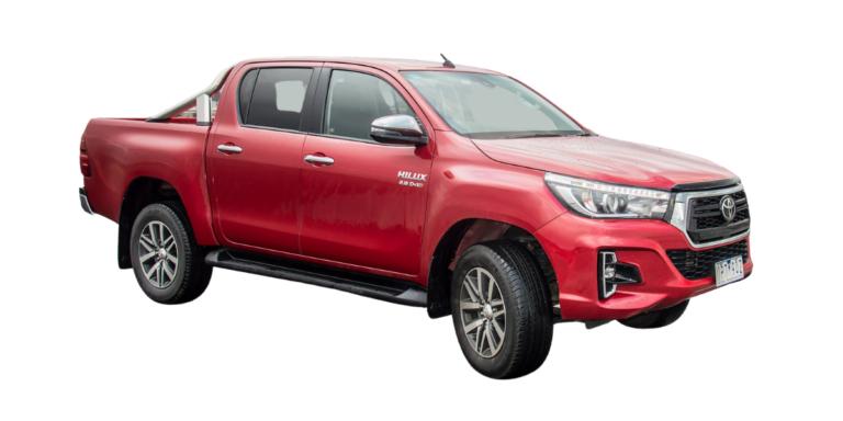 Toyota Hilux 15+